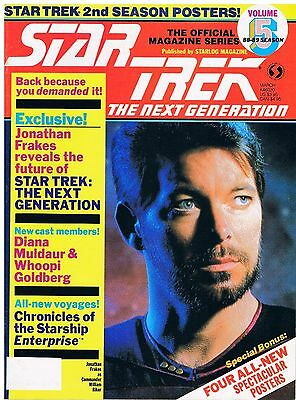 Star Trek The Next Generation The Official Magazine Series No.5 / 1988