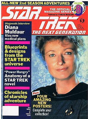 Star Trek The Next Generation The Official Magazine Series No.8 / 1989