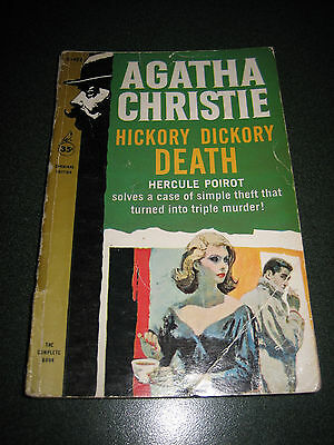 Hickory Dickory Death by Agatha Christie (Paperback, 1961)