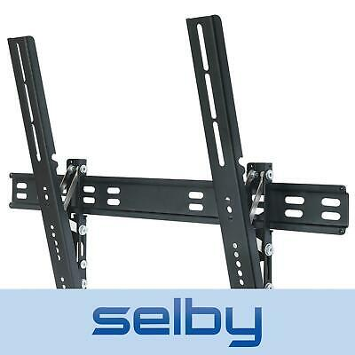 "40-65"" Inch 25kg LED LCD Plasma TV Slim Slimline Wall Mount Bracket Black"