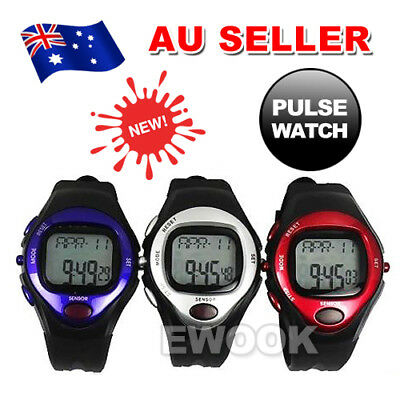 OZ Best Exercise Fitness Pulse Heart Rate Monitor Calorie Counter Sports Watch