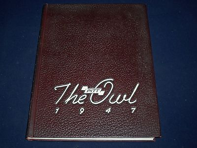 1947 The Owl University Of Pittsburgh Yearbook - Great Photos - Yb 116