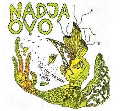 NADJA / OVO - The Life And Death Of A Wasp  [Split-LP]