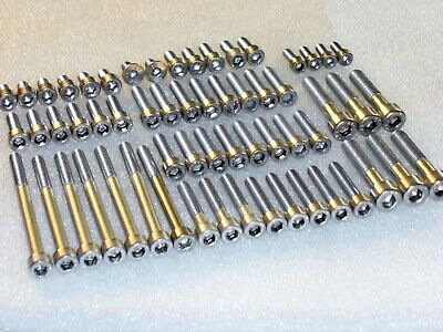 DUCATI HYPERMOTARD 1100 Engine Covers Stainless Allen Bolts Capscrews kit DIN912