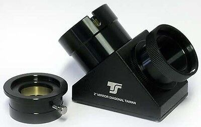 "TS Optics SC 2"" Star Diagonal , Mirror Diagonal for SCT Telescope, TSZSSC"