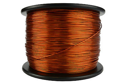 TEMCo 17 AWG Gauge Enameled Copper Magnet Wire 200C 10lb 1580ft Coil Winding