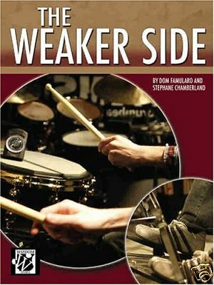 Drum Exercise Percussion Tutor Book The Weaker Side All Drummers