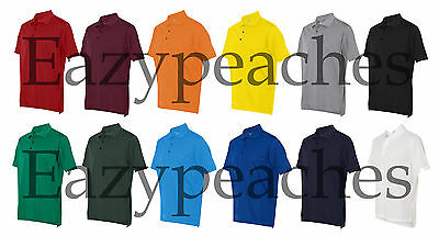 ADIDAS Mens S-XL 2X 3XL Climalite dri-fit Pique Polo Sport GOLF Shirts 14 COLORS