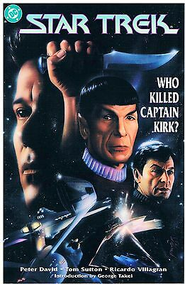 Star Trek Who killed Captain Kirk? / US Trade Paperback