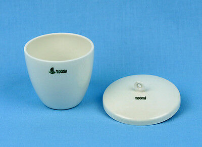 100 mL PORCELAIN CRUCIBLE with LID