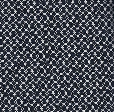QUILT FABRIC 100/% COTTON 0108613 By The Yard BLACK /& WHITE PRINT