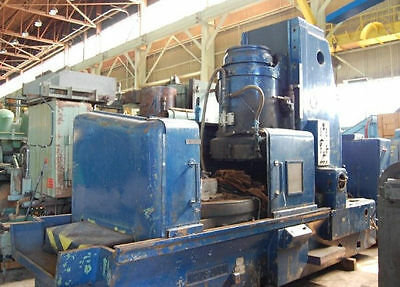 """62/64"""" Naxos/union """"fr1600"""" Vertical-Spindle Rotary Surface Grinder - #25538"""