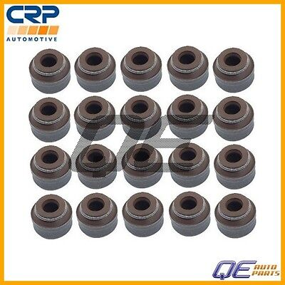 Volvo C30 S60 V70 XC70 Set of 20 CRP Engine Valve Stem Oil Seals 9443787