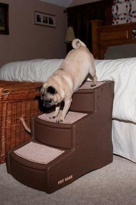 """Pet Gear 24"""" Easy Steps III Dog Cat 3 Stairs Ramp PG9730 All Colors Available"""