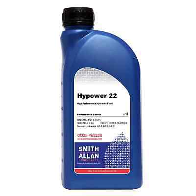 Hydraulic Oil ISO 22 VG22 Premium Quality Fluid 1 litre 1L