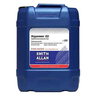 Hydraulic Oil ISO 22 VG22 Premium Quality Fluid 20 litre 20L