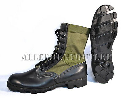 Lot NOS US Military Vietnam JUNGLE COMBAT BOOTS Spike Protective 6.5-12 NEW