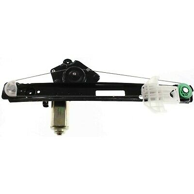 Power Window Regulator For 2000-2007 Ford Focus Rear, Driver Side With Motor