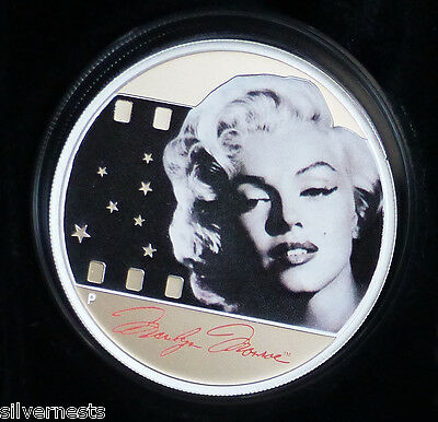 2012 Perth Mint Marilyn Monroe 99.9% Proof Quality SILVER $1 Coin Ltd Edition!!