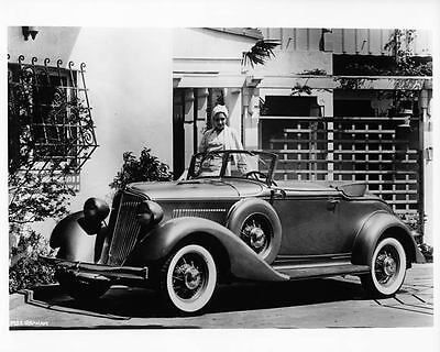 1932 Graham Convertible Coupe Factory Photo ad0048
