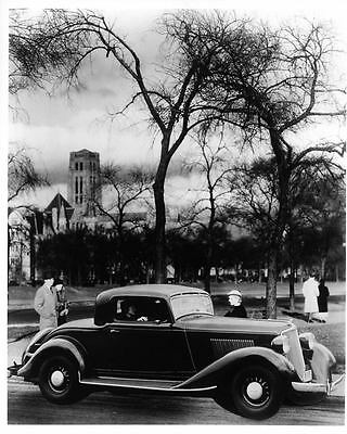 1934 Graham Coupe Factory Photo ad0075