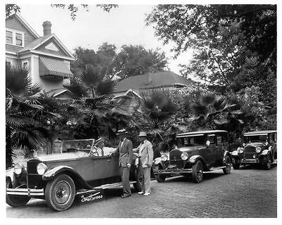 1929 Packard Models Factory Photo ad0246