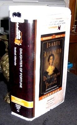 Daughter of Fortune by Isabel Allende / Brown Unabridged Audiobook Cassettes