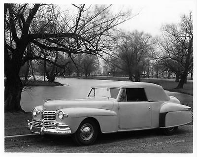 1946 Lincoln Continental Cabriolet Auto Photo Poster Z0860