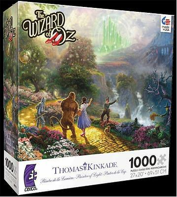 KINKADE WARNER BROTHERS MOVIE CLASSICS JIGSAW PUZZLE THE WIZARD OF OZ 3357-2
