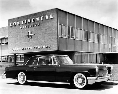 1956 Lincoln Continental MKII Automobile Photo Poster Z0896