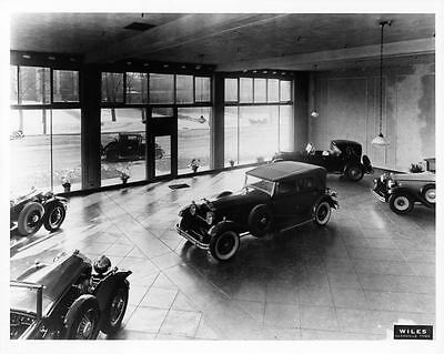 1930 Packard Showroom Automobile Photo Poster Nashville Z1291