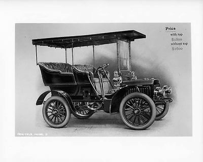 1904 Yale Model D Factory Photo ad0657