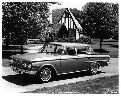 1962 Rambler Ambassador 4 Door Sedan Factory Photo ad0703