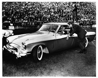 1955 Studebaker President Auto Photo Poster Bob Hope Z1777