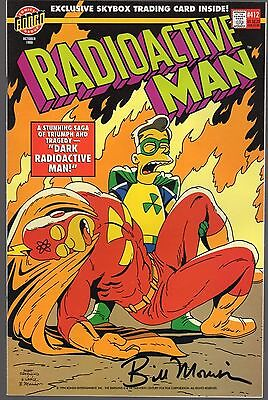 Radioactive Man Comic - Signed by Bill Morrison *1994* USA