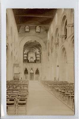 (Lh037-183) Real Photo of Norman Nave, SOUTHWELL Minster 1907 Used VG