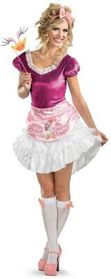 Sassy Minnie Mouse Pink Disney Fantasy Cute Dress Up Halloween Adult Costume