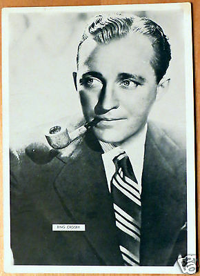 Moxie Stars 5X7 Black/White Glossy Photo Bing Crosby