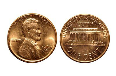 1960-D  Lincoln Cent - RPM-005 #5 Uncirculated bu Red  #2075