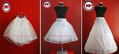 Children Petticoat for Flower Girls Holy Communion  Pageant 1-15 YEARS FREE P&P