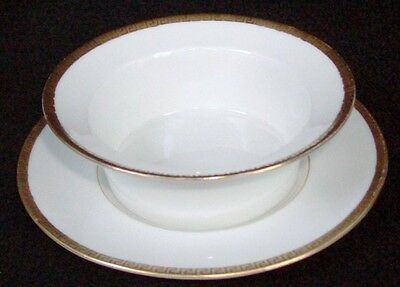 KPM Made In Germany Venus China Silesia #26370 Ramekin & Saucer 4 1/8""