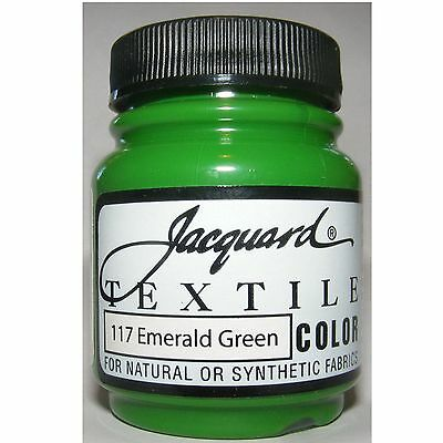 Emerald' ' Natural Or Synthetic Fabric Paint