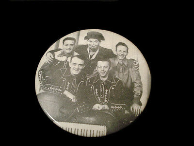 Celluloid Pocket Mirror ~ Country & Western Band