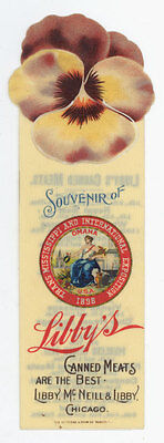 1898 Trans Mississippi & International Exposition Celluloid Bookmark Omaha