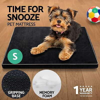 i.Pet Pet Bed Mattress Memory Foam Soft Dog Cat Pad Summer Winter Mat Cushion S