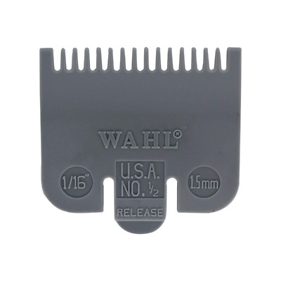 """WAHL Comb #1/2 Clipper Attachment Guide 1/16"""" Guard 1.5mm cutting length WAHL"""