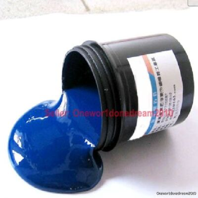 100g Photoresist Anti-etching Blue Paint for DIY PCB Photo Etched PE