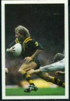 Scarce Trade Card of Peter Sterling, Rugby League 1986