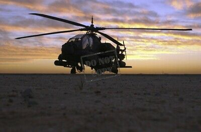 US Army (USA) AH-64A Apache helicopter EF 8X12 PHOTOGRAPH