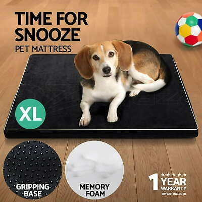 i.Pet Pet Bed Mattress Memory Foam Dog Cat Pad Summer Winter Mat Cushion XLarge